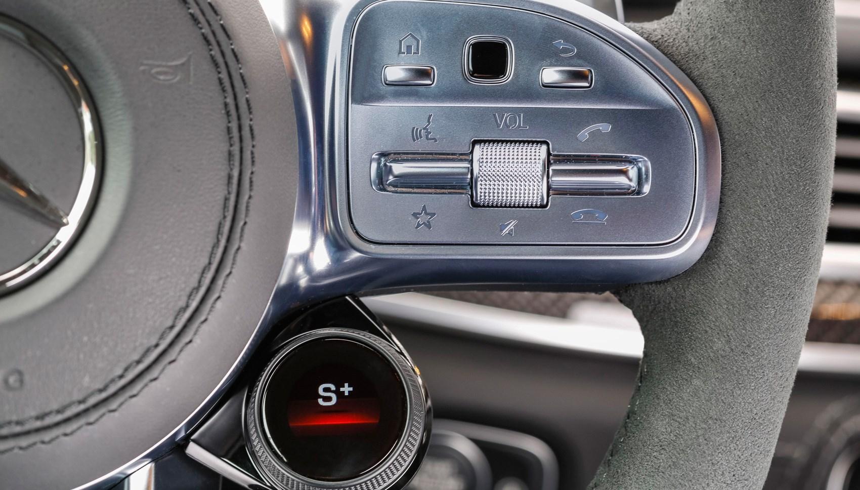 AMG GLE53 steering wheel