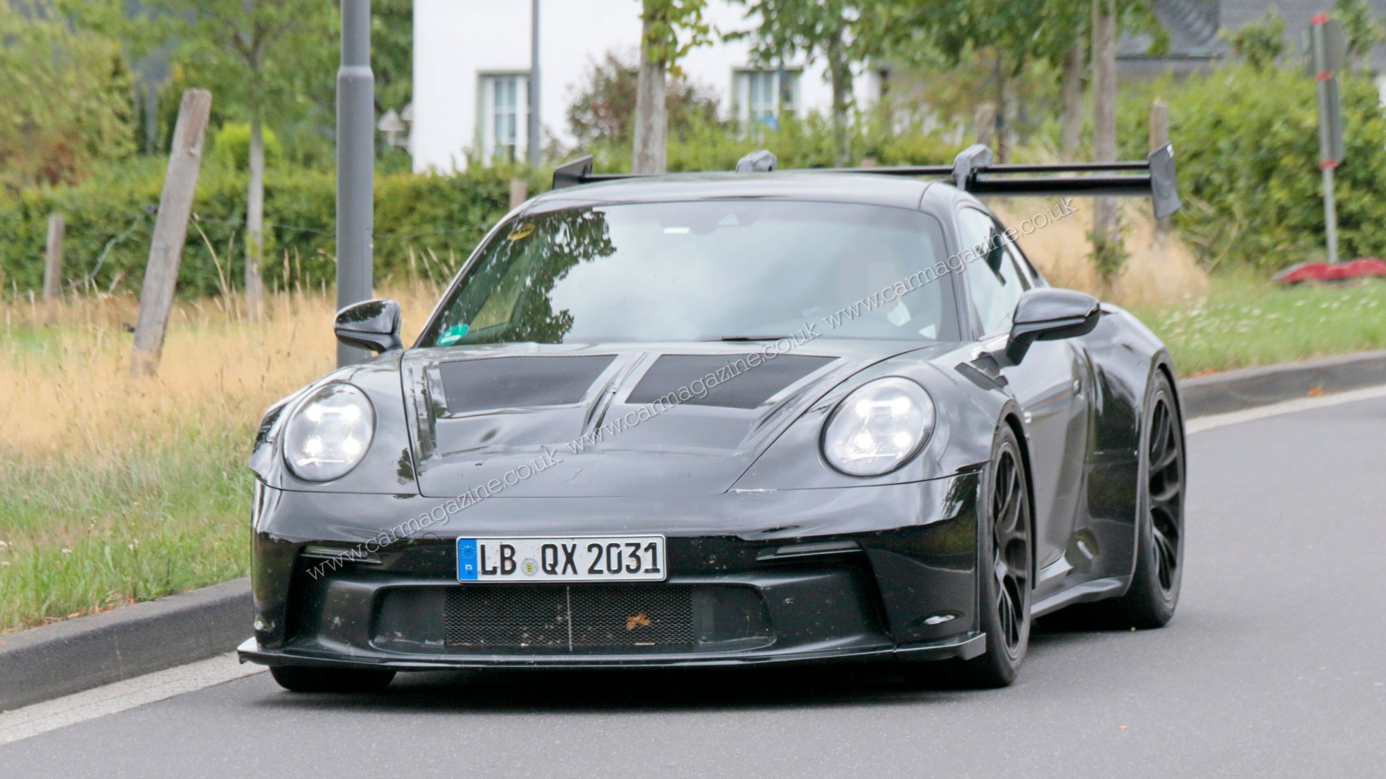New 2020 Porsche 911 Gt3 Fresh Pictures Of Gt3 Rs Testing Car Magazine