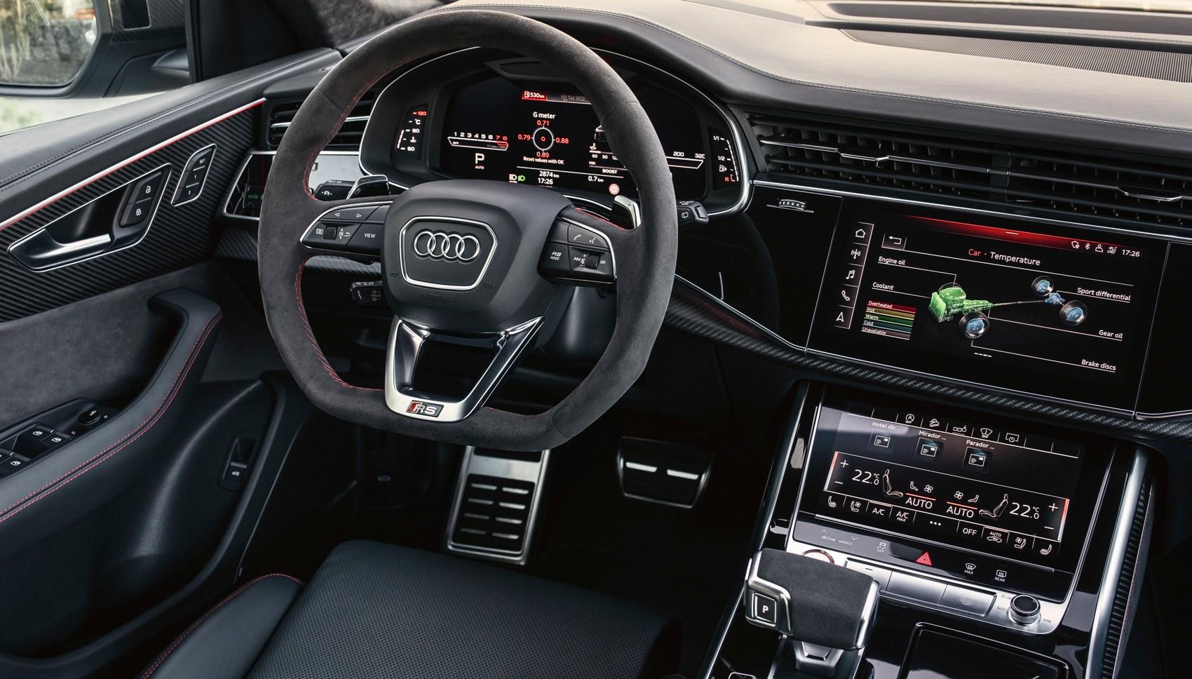Audi RSQ8 interior