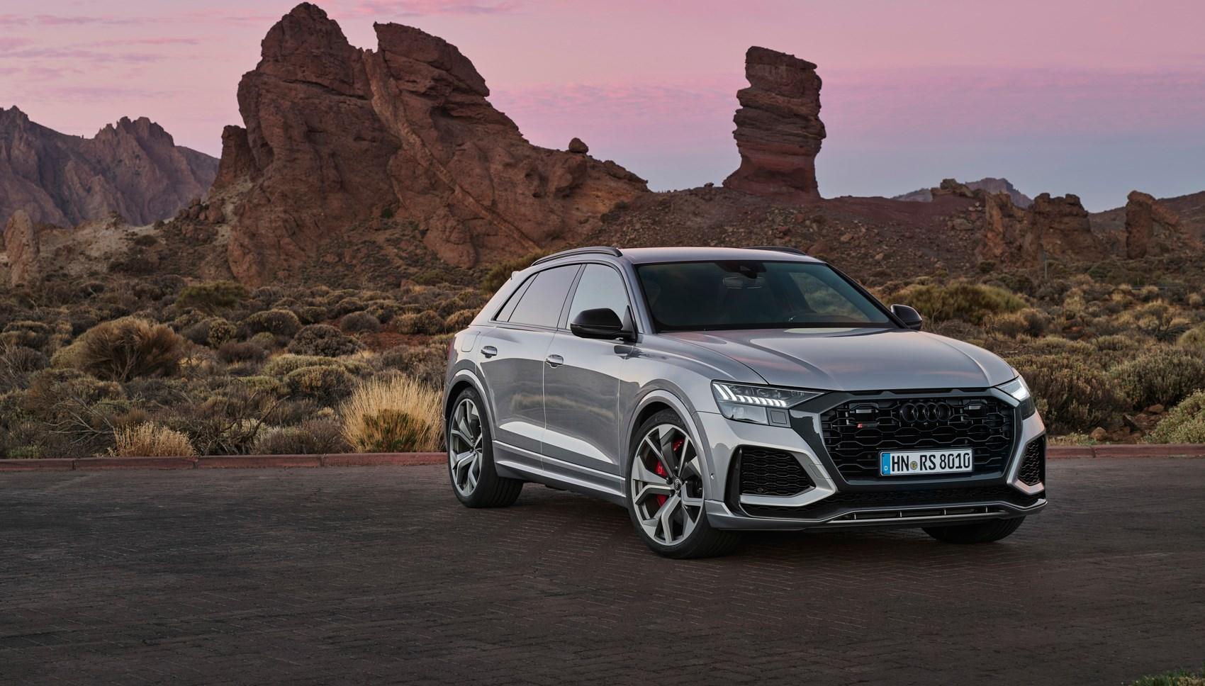 Audi RSQ8 front quarter