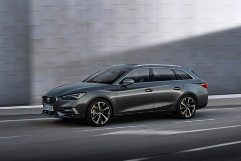 Seat leon estate tracking
