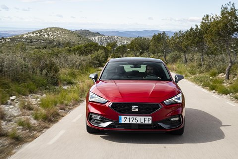 Seat Leon prices from £19,855 in the UK