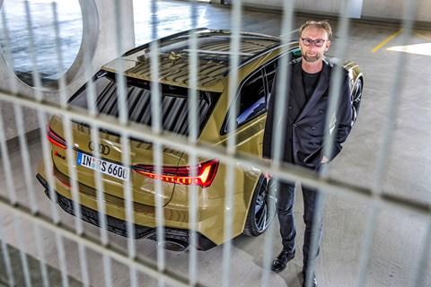 RS6 Marc Lichte parking