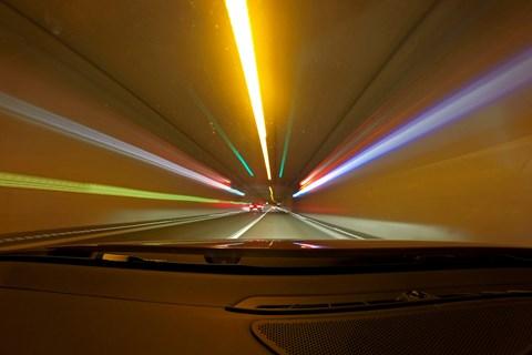 European road trip 2019 Swiss tunnels
