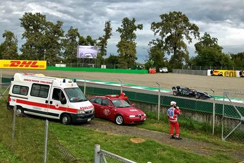 F1 Monza 2019 Parabolica