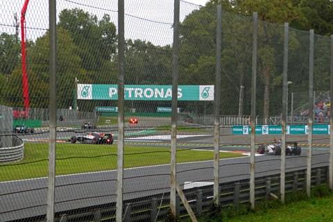 F1 Monza 2019 Practice day Roggia chicane