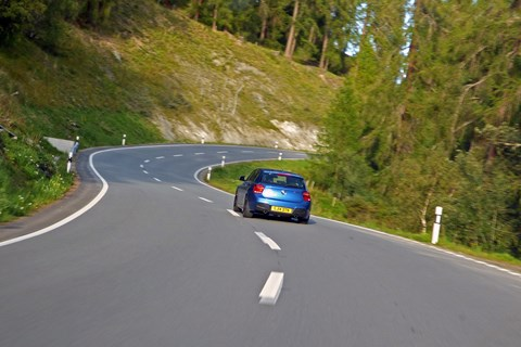 BMW M135i European road trip Switzerland to Austria