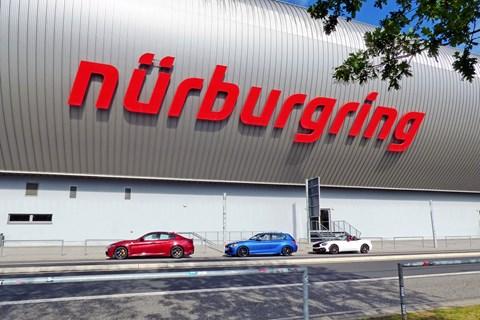 European road trip Nurburgring Nordschleife