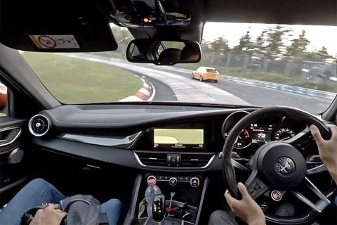 Alfa Romeo Giulia Quadrifoglio Nordschleife little carousel
