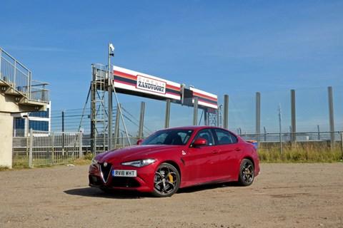 Alfa Romeo Giulia Quadrifoglio Circuit Zandvoort