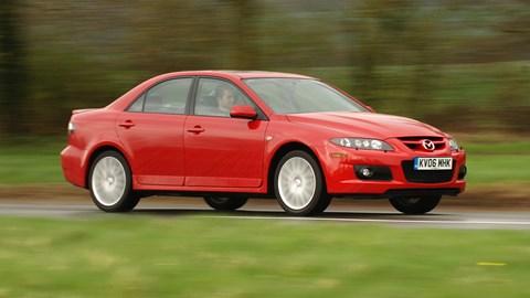Mazda 6 MPS, driving