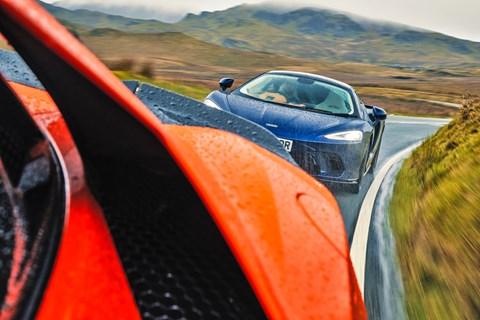 McLaren GT chase