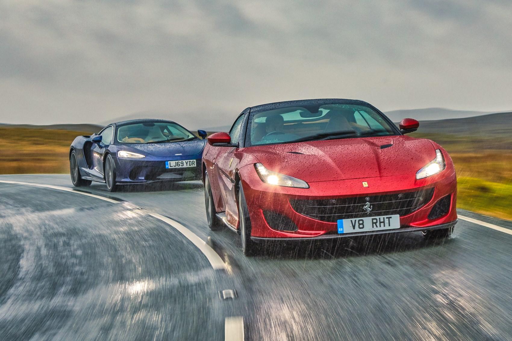 Mclaren Gt Vs Ferrari Portofino Vs Honda Nsx Triple Comparison Test 2020 Review Car Magazine