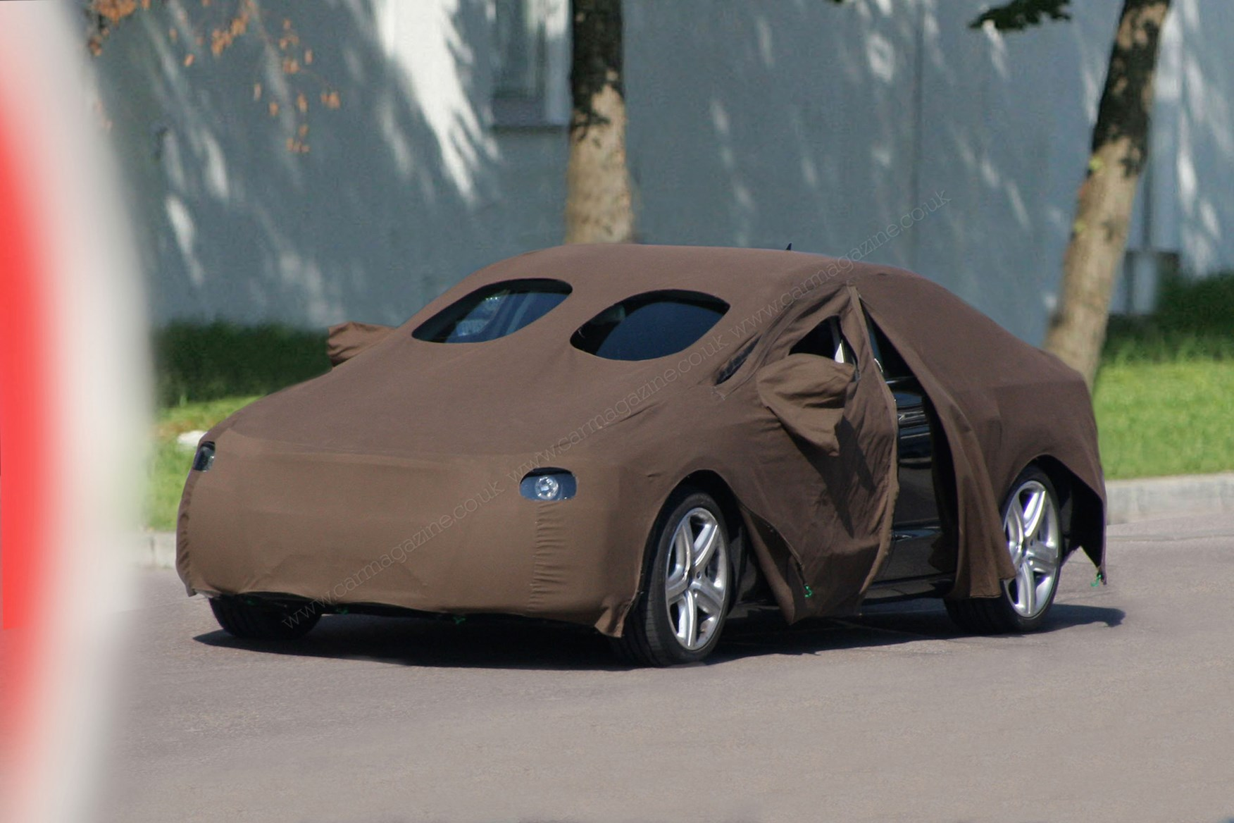 The Art Of Car Disguise Prototype Camouflage Decoded By Car Magazine