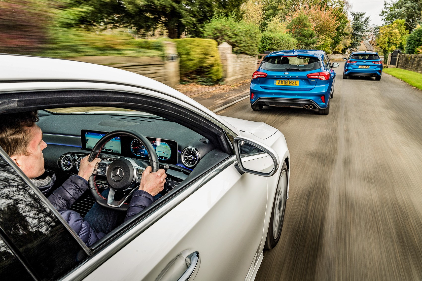Hatchback shootout: Ford Focus vs Kia Ceed vs A-class