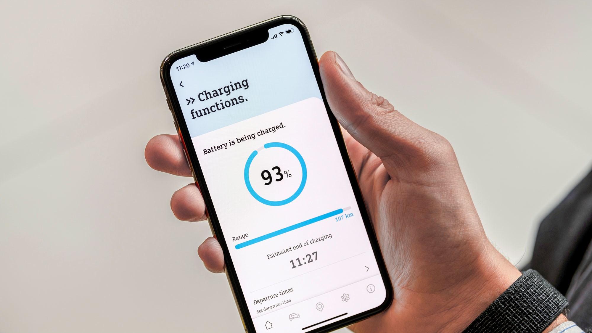 Smart Fortwo EQ phone app 2020