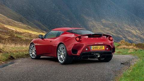 Lotus Evora GT410 rear 2020