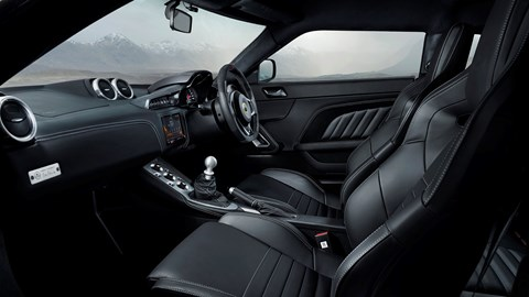 Lotus Evora GT410 interior 2020