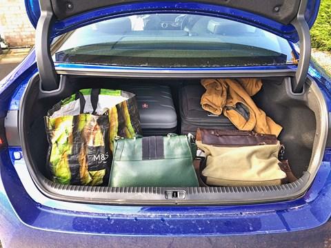 Lexus RC boot