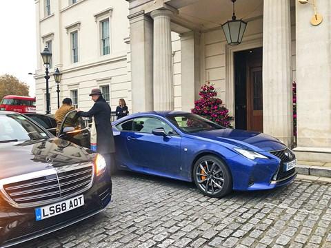 Lexus RC meets the Lanesborough Hotel in London