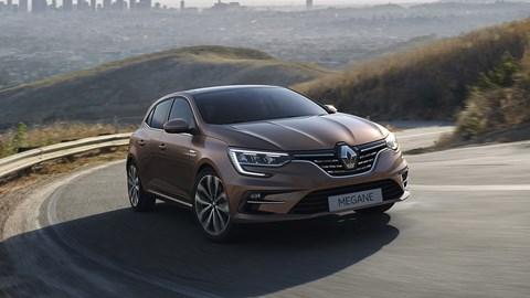 2020 Renault Megane front tracking