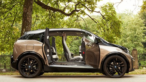 2019 BMW i3 with doors open