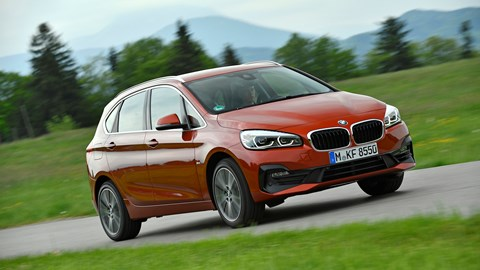 BMW 218 Active Tourer - premium MPV from £99 up front on Motability