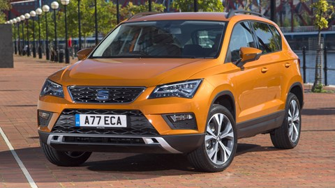 Seat Ateca - 4x4 costs more for Motability users, but it's still great value