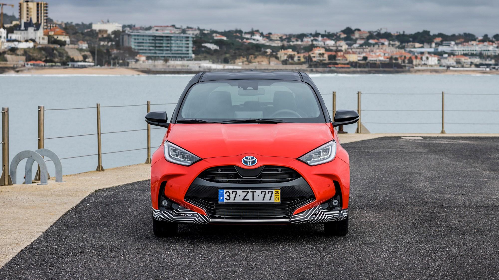 Toyota Yaris Hybrid 2020 front