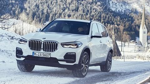 White 2021 BMW X5 xDrive45e
