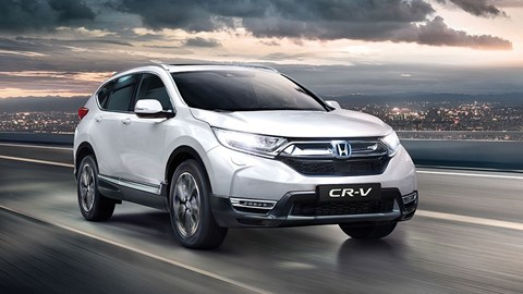 White 2021 Honda CR-V Hybrid