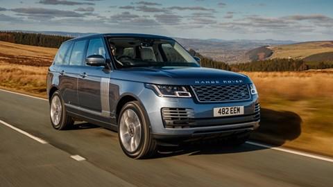 Blue 2021 Land Rover Range Rover P400e