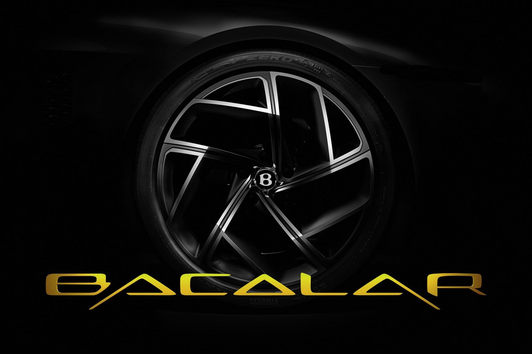 Bentley Mulliner Bacalar: super-rare grand tourer teased