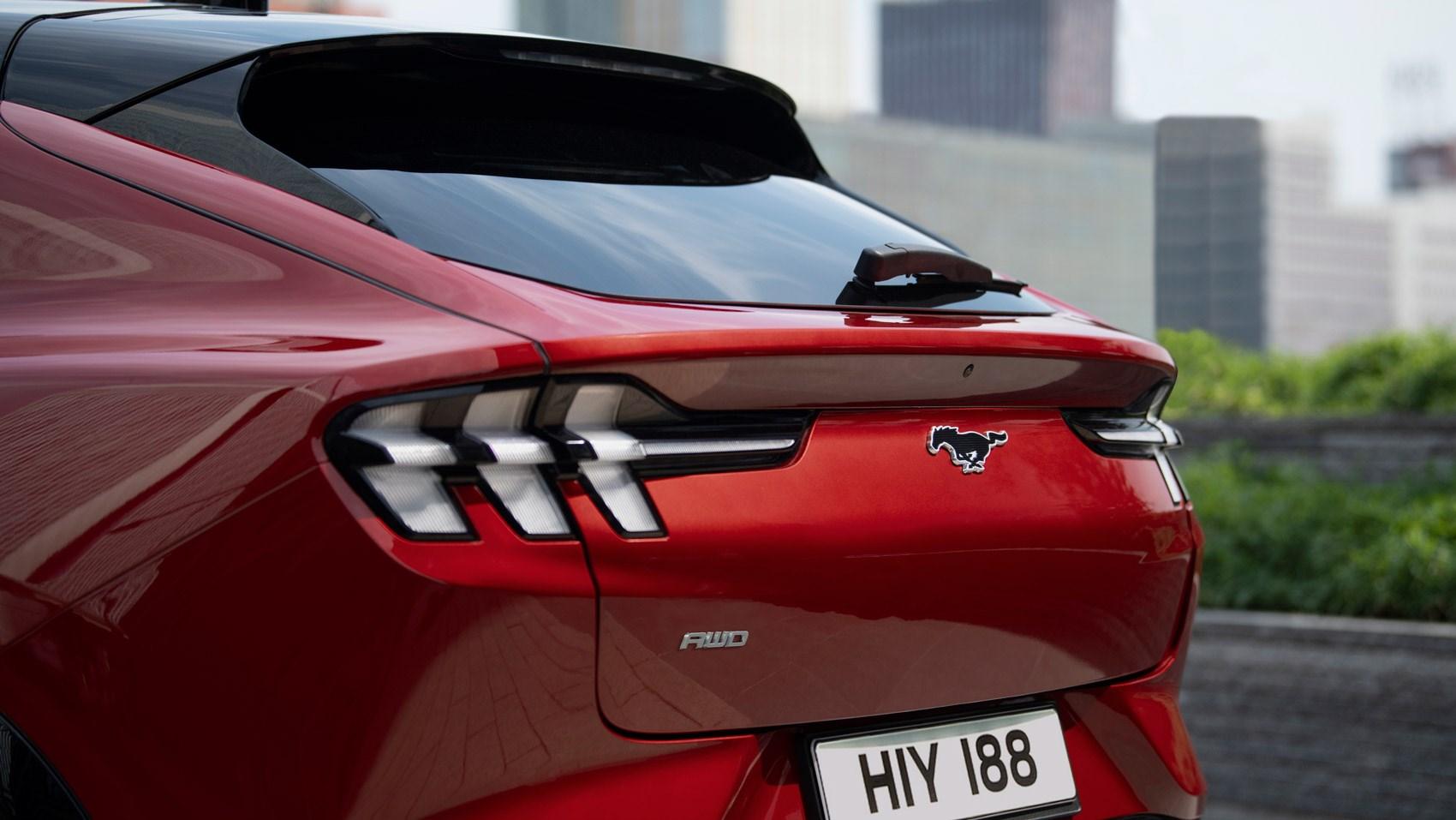 Mach-E rear detail