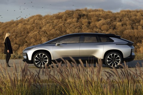 Fast future: the Faraday Future FF91
