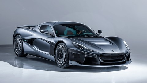 Rimac C_Two: one of the fastest electric cars around, with 0-62mph in 1.85sec