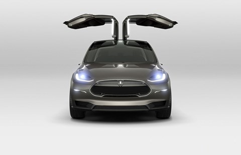 Tesla Model X: get the Performance version, and it'll scoot from 0-62mph in 2.7sec and reach 155mph