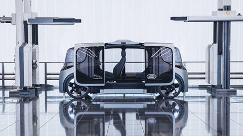 New 2020 Jaguar Land Rover Project Vector