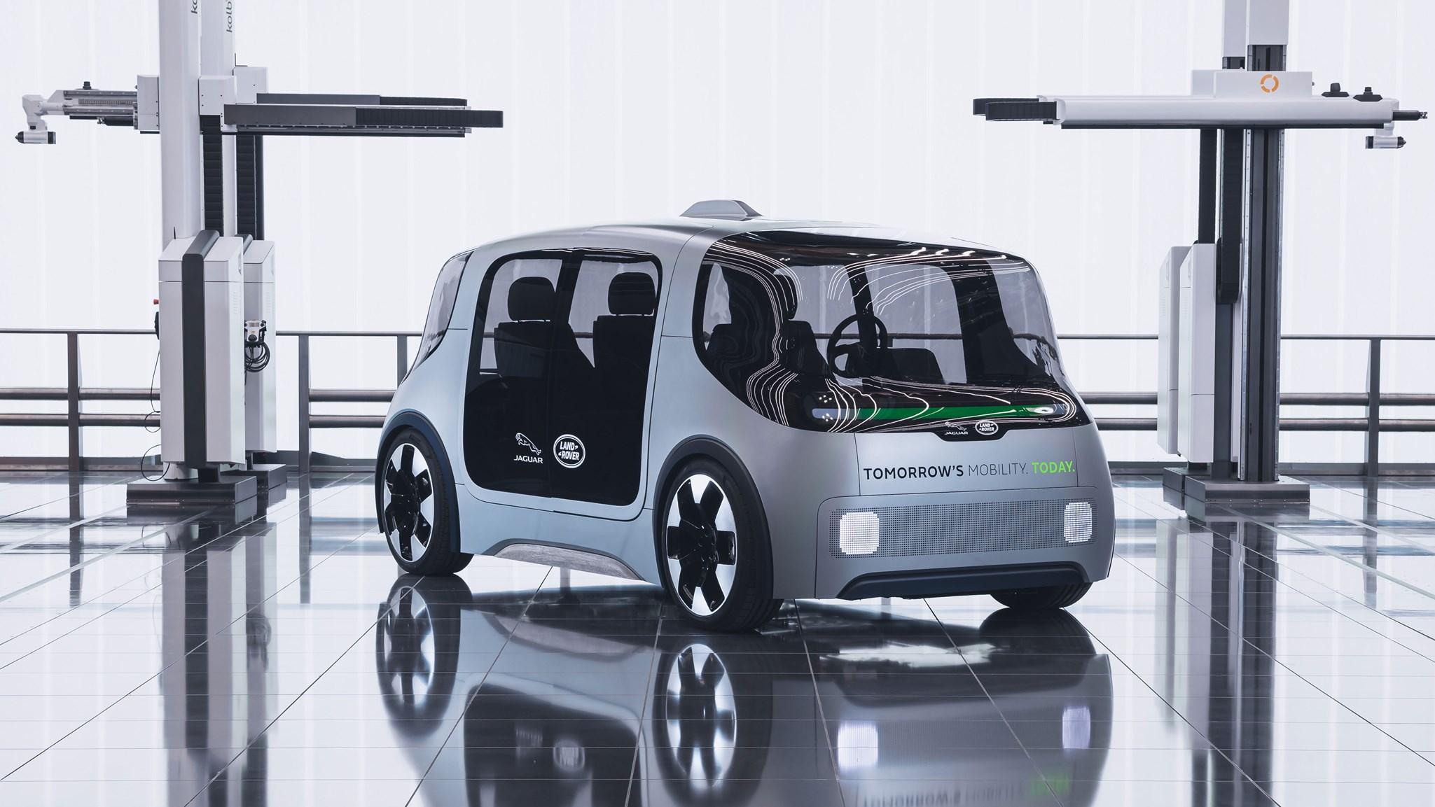 Jaguar Land Rover Project Vector: JLR's urban EV pod is here