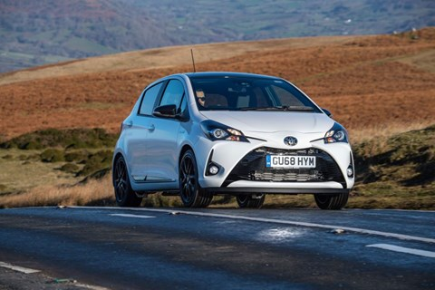 Toyota Yaris Hybrid: the cheapest full hybrid petrol-electric car on sale in 2020