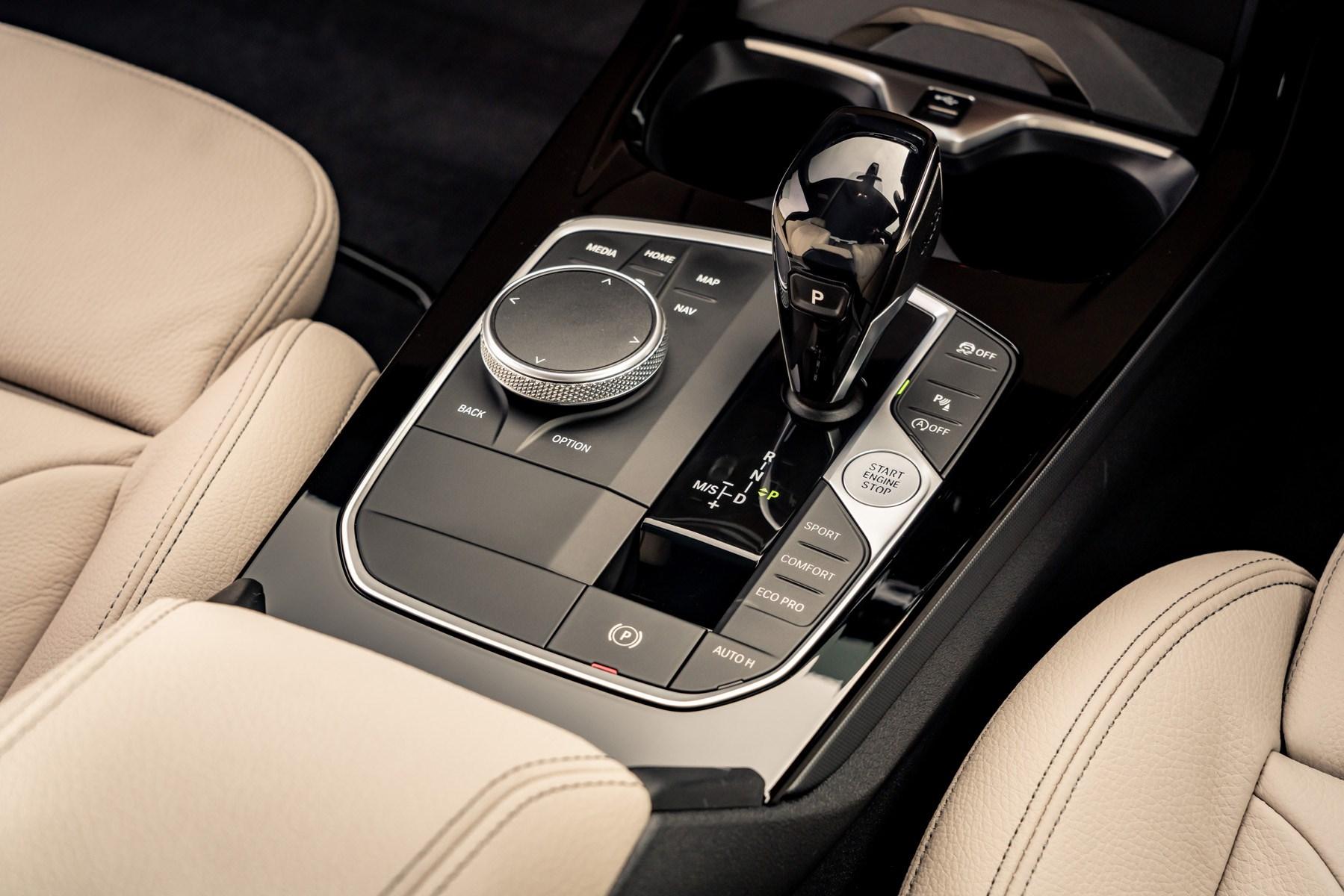BMW 2 Series Gran Coupe centre console 2020