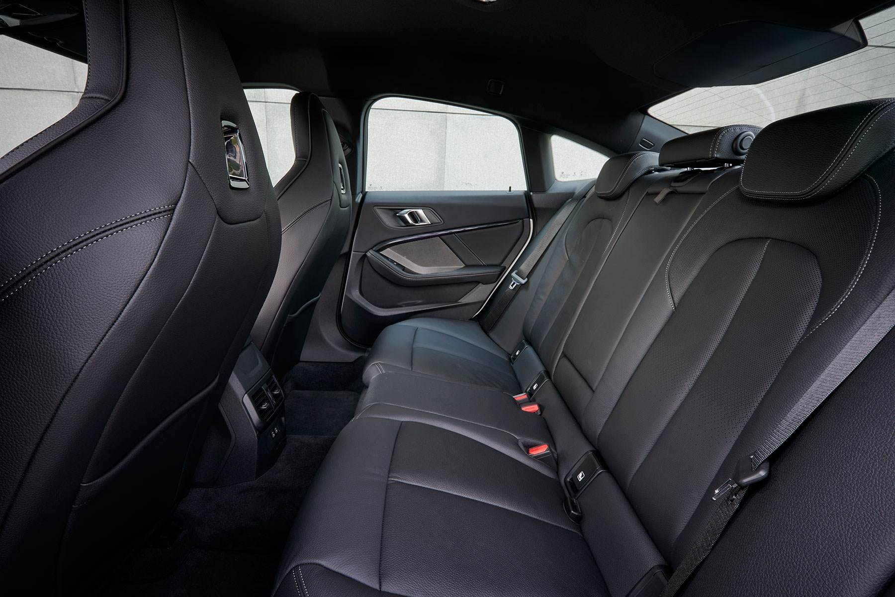 BMW 2-series Gran Coupe rear seats: quite tight on space