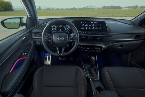 Interior of new 2020 Hyundai i20 showcases double 10.25-inch digital displays