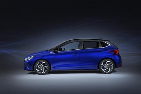 New 2020 Hyundai i20 supermini