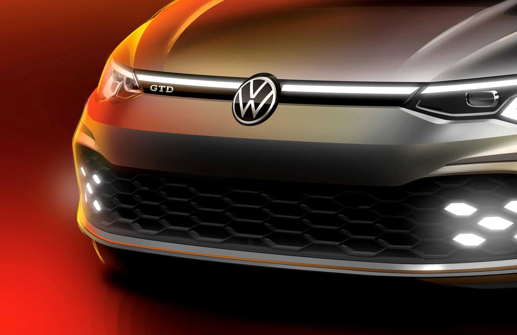 New VW Golf GTD bound for Geneva show