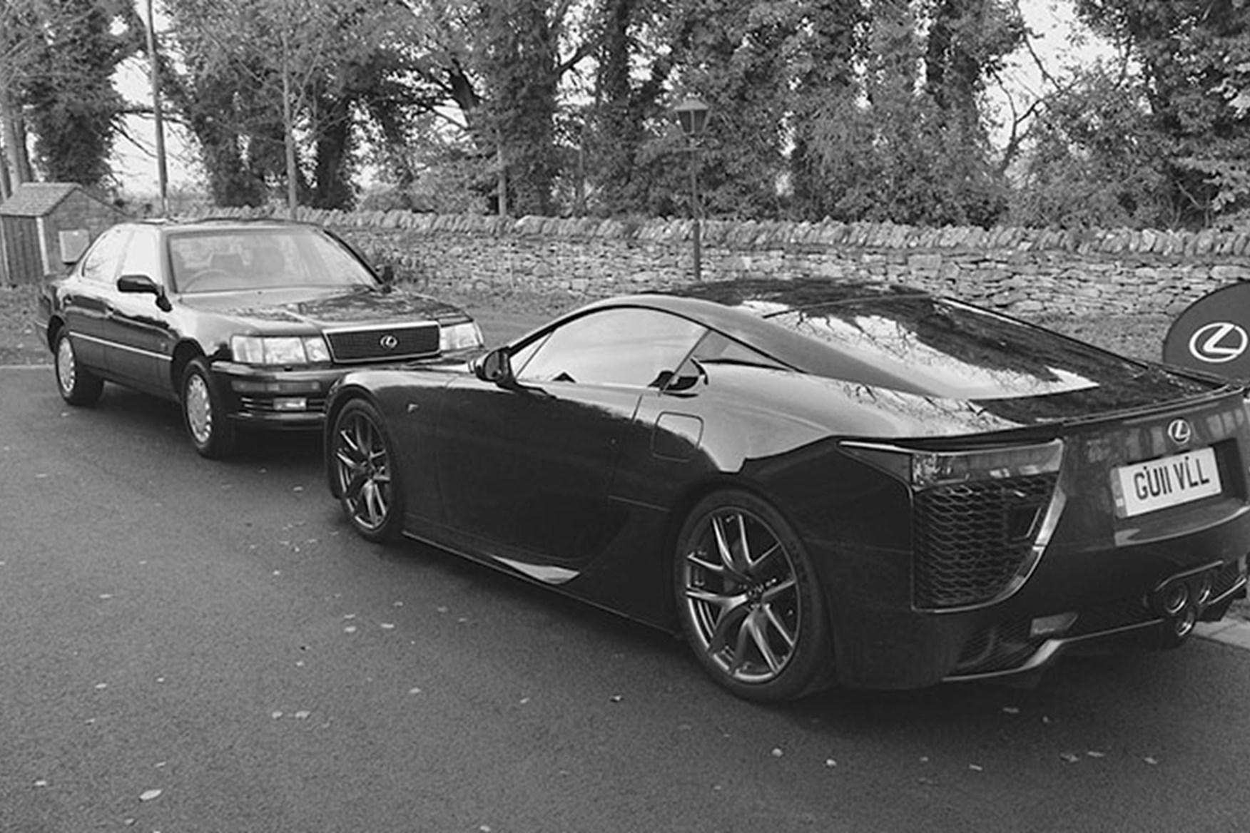 Charmant ... Still Looking Great Today: The Lexus LFA Supercar