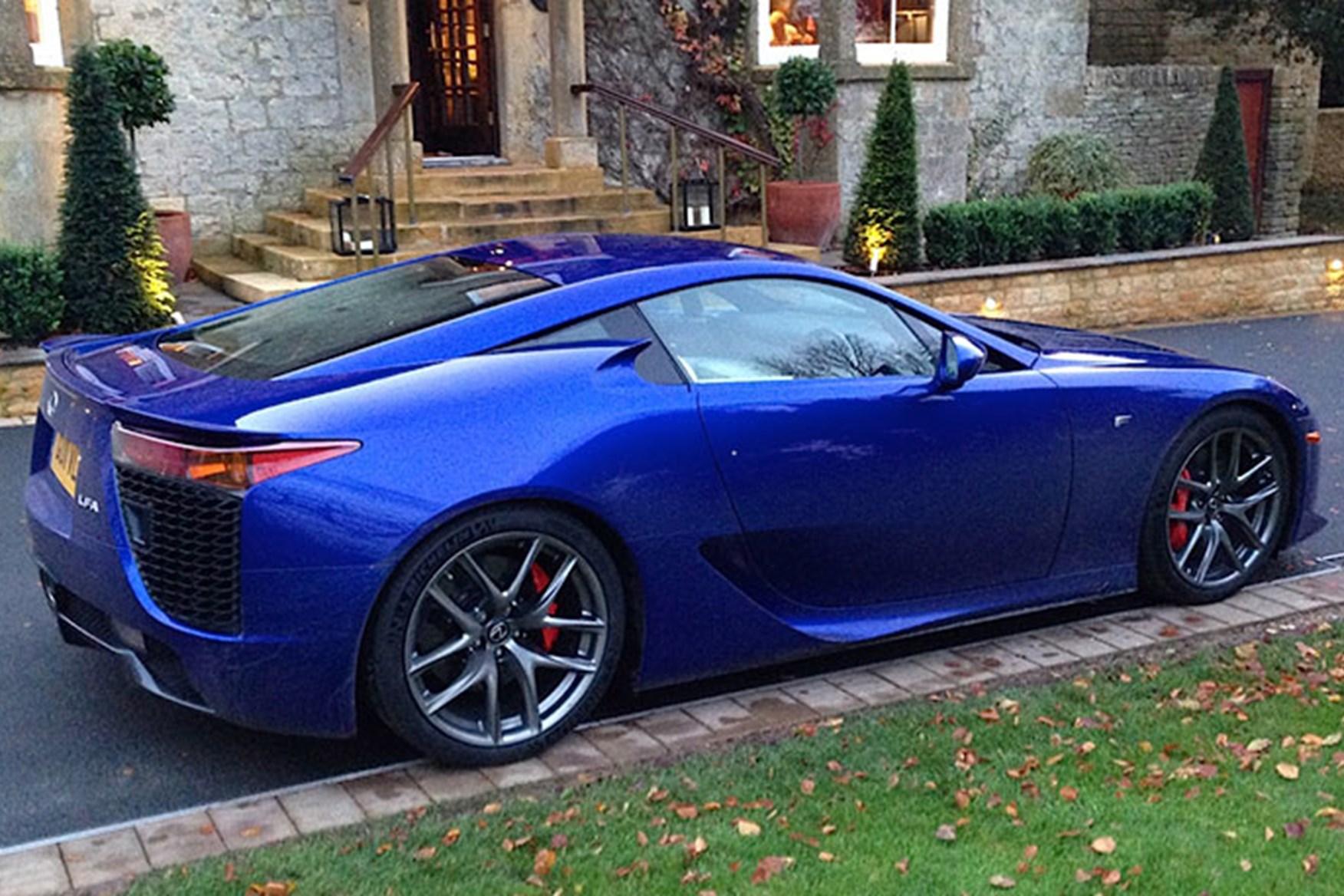 ... Still Looking Great Today: The Lexus LFA Supercar