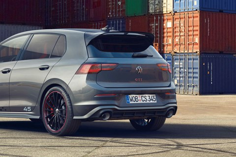 VW Golf GTI Clubsport 45 rear