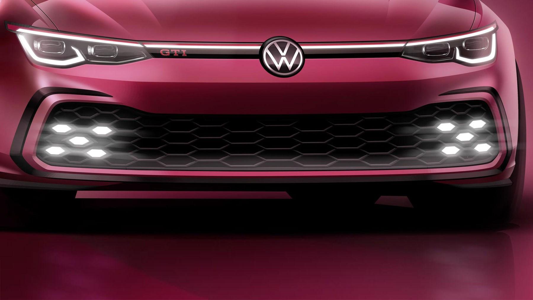 New VW Golf GTI: performance polish v8
