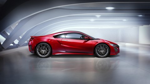 Honda NSX: first unveiled back at the 2016 Detroit auto show